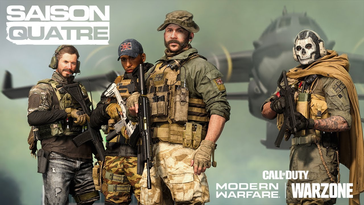 Call of Duty®: Modern Warfare® & Warzone — Bande-annonce officielle de la Saison 4