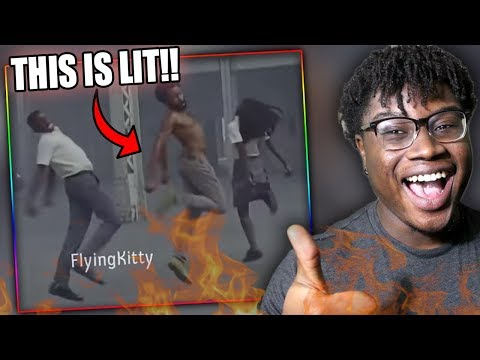 THIS IS AMERICA LIT REMIX!   FlyingKitty: This Is America 2 Reaction!