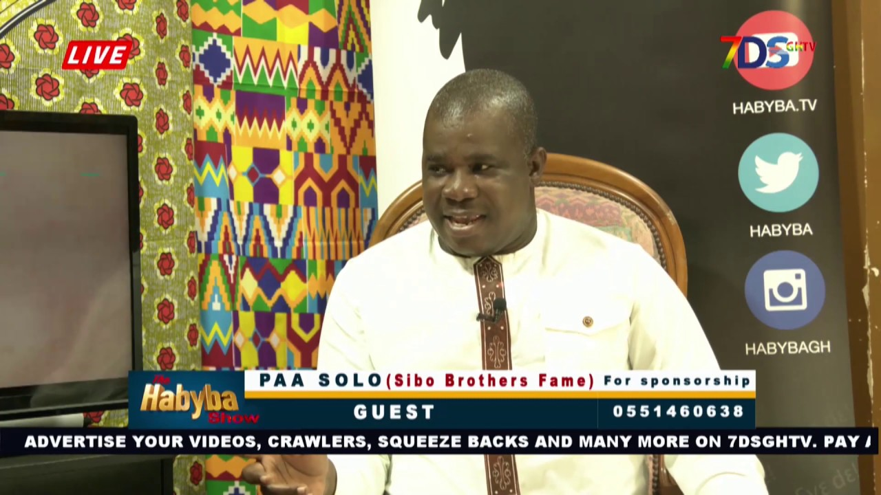 PAA SOLO (SIBO Brothers Fame) On THE HABYBA SHOW - YouTube