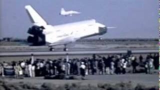 Pilot Induced Oscillations during Enterprise landing on slow motion - 10/26/1977 -