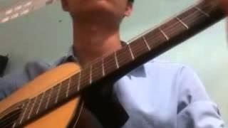 tôi đưa em sang sông guitar....