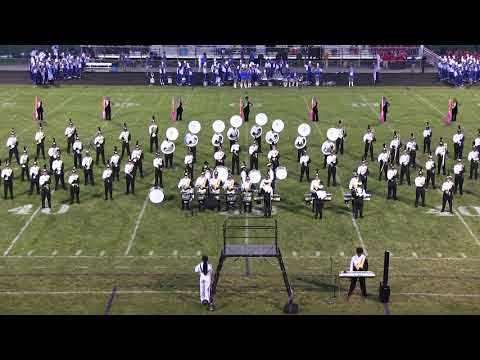 Warren Harding Marching Band at Champion Band Night 2017