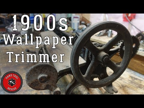 1900s Wallpaper Trimmer [Restoration]