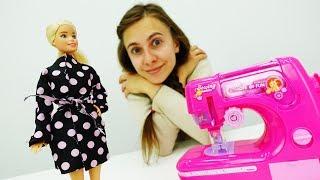 Шьем плащ для Барби. Мастерская Барби для кукол