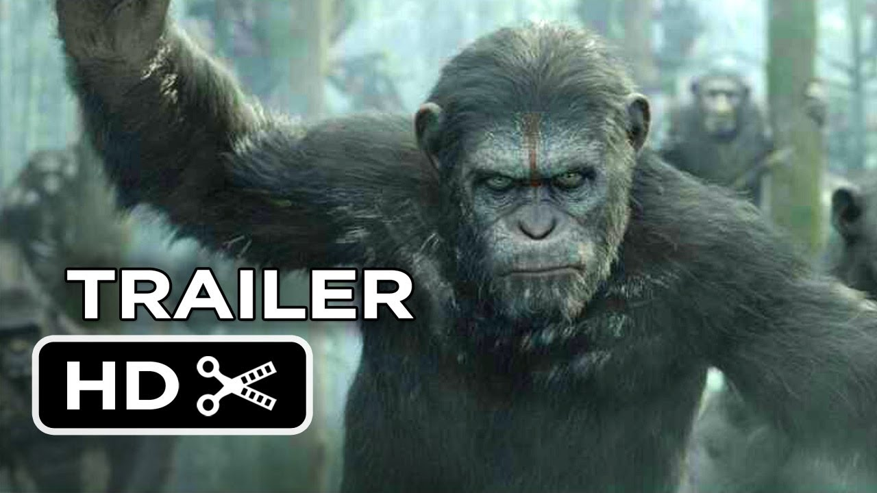 Dawn Of The Planet Of The Apes Official Trailer 1 2014 Gary Oldman Movie Hd Youtube