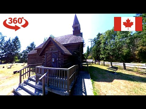 saint-anne's-anglican-church-in-parksville-british-columbia-360°-street-walk-on-the-vancouver-island