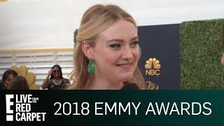 Dakota Fanning Recalls Last Emmys Award When She Was Only 8 | E! Red Carpet & Award Shows