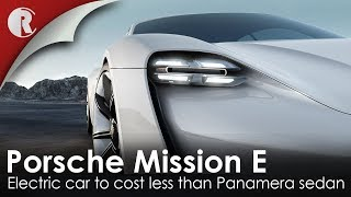 A CLOSER LOOK AT THE STUNNING ALL-ELECTRIC PORSCHE MISSION E