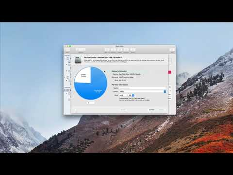 MacOS High Sierra Disk Utility: A Video Walkthrough