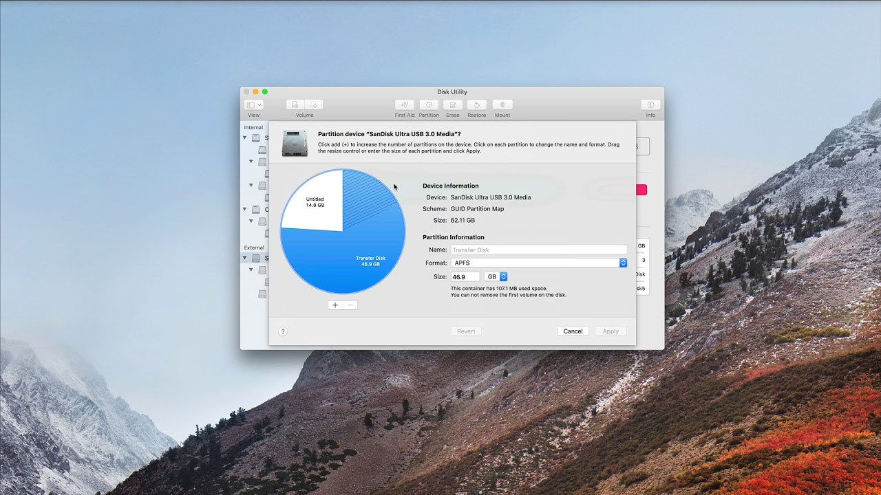 macOS High Sierra Disk Utility: A Video Walkthrough