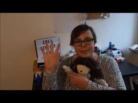 Meine Lieblingspuppe Zum Häkeln Hannah Youtube