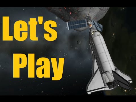 Let's Play KSP - Asteroid Day! - Ep146