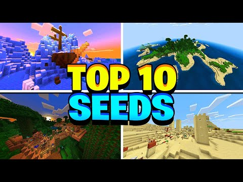 Minecraft Top 10 Pe Seeds Best Seeds For Minecraft Pocket
