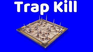 How to get a easy trap kill | fortnite