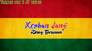 KORBAN JANJI || Lirik lagu version || Ft.Dhevy gerranium || Ska 86 version