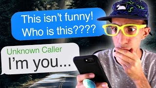 Texting with ME from the FUTURE! (Hooked | Call from the Future)