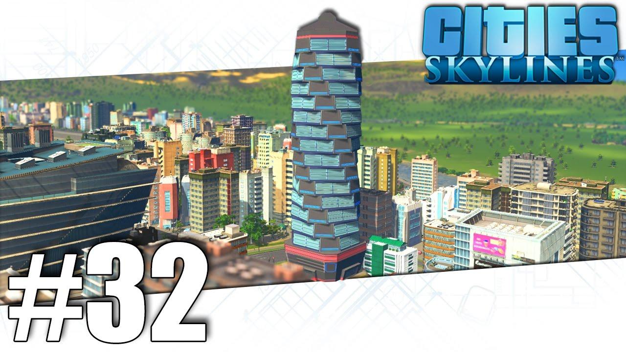 cities skylines superhero part 32 youtube