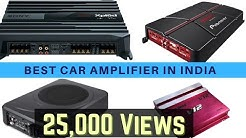 Best 10 Selling Car Amplifier in India 2019 Prices List