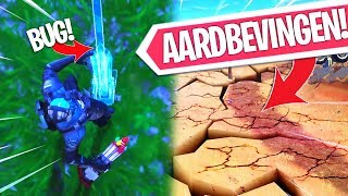 BOTTLE ROCKET VUURWERK BUG!! DE AARDBEVINGEN ZIJN BEGONNEN (GAMEPLAY)! Fortnite Battle Royale