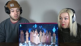 Idina Menzel Aurora - Into the Unknown (Live from the 92nd Academy Awards) | COUPLE REACTION VIDEO