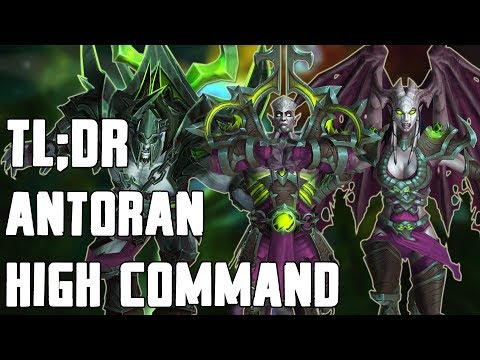 TL;DR - Antoran High Command (Normal/Heroic)