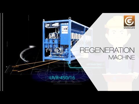 Cleaning, bleaching, regeneration of mineral oils and diesel fuel. UVR-450/16 unit
