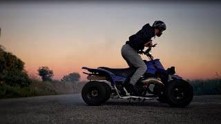 Yamaha Banshee 350 First Ride 2019 Slow Motion 4K