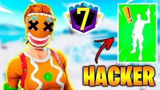 I found a Hacker at the Fortnite! -Fortnite, the