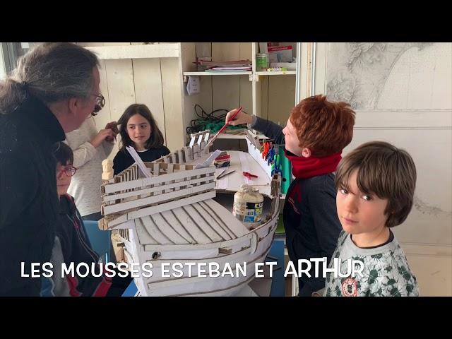 Ils préparent Escale à Sète : rencontre avec Raymond Dublanc et son jeune équipage