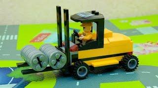 Машинки мультфильм - Мир машинок - 145 серия: Погрузчик, Автобус Тайо. Мультик для детей.