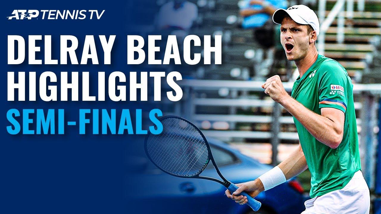 Harrison vs Hurkacz; Norrie vs Korda   Delray Beach Open 2021 Semi-Final Highlights