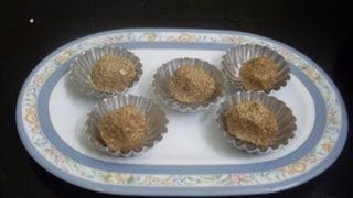 Dates And Walnut Balls With Oats