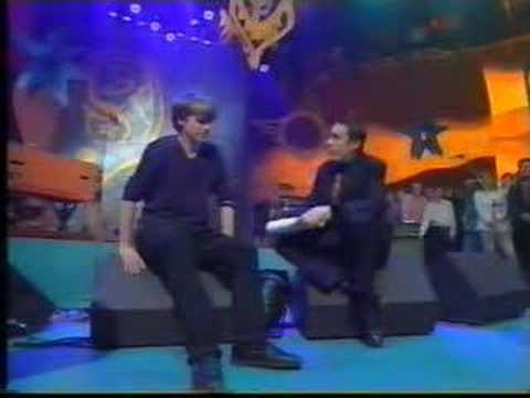 Crowded House interview on Later ('96)