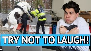 TRY NOT TO LAUGH CHALLENGE! 3 (REALLY HARD)