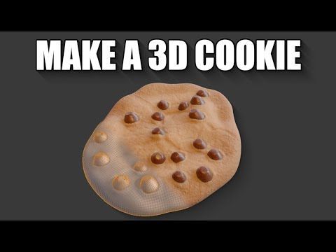 blender-2.8-+-substance-painter-how-to-make-a-chocolate-chip-cookie