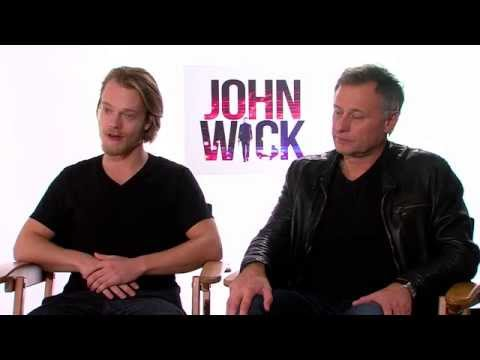 John Wick  Alfie Allen and Michael Nyqvist   Empire Magazine