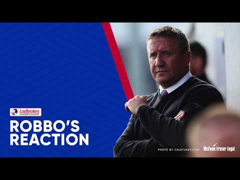 CaleyJagsTV : ICTFC's John Robertson Match Reaction v Brechin City 30/12/17