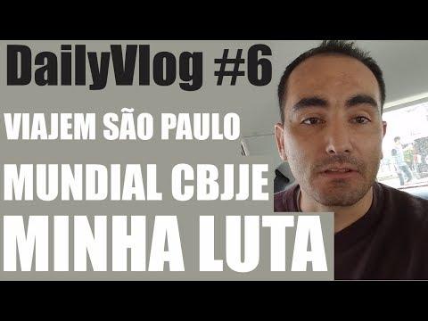 DailyVlog #6 - Mundial De Jiu Jitsu CBJJE + MINHA LUTA
