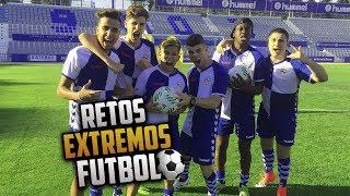RETOS EXTREMOS DE FUTBOL con MUCHOS YOUTUBERS   Paul Ferrer