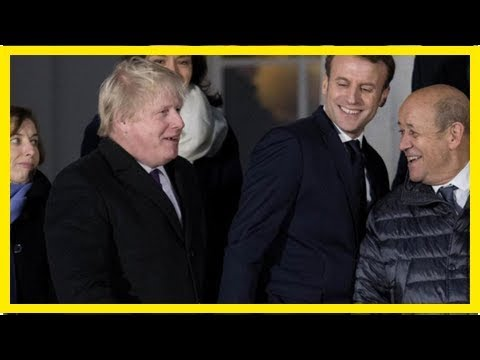 Fox News - Boris Johnson hinted at the possibility of crossing the English channel for the second