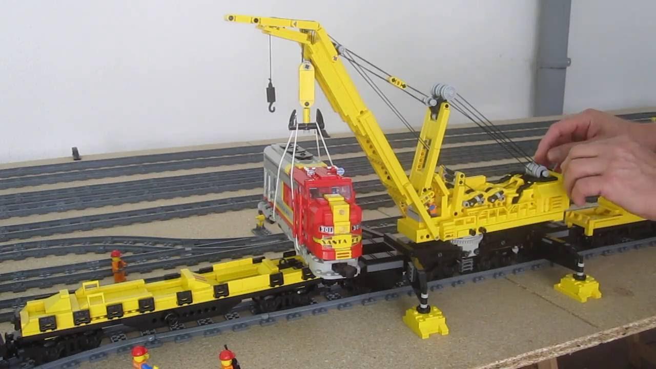 Lego Kran Goliath Teil 3 Hub Youtube