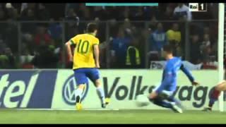Brasile - Italia 2-2 Ampia Sintesi - Highlights - All Goals