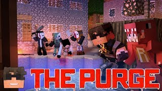 ESCAPING THE TEACHER | Minecraft THE PURGE Roleplay | Episode 3