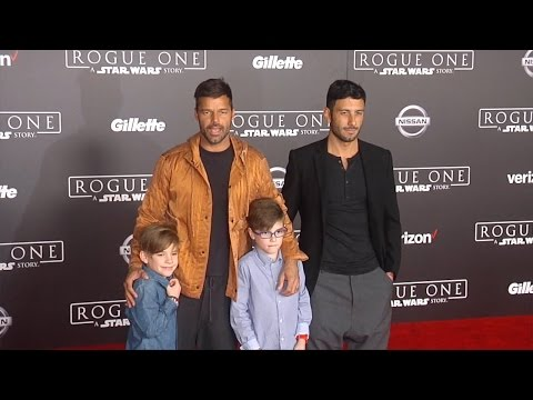 "Ricky Martin ""Rogue One: A Star Wars Story"" World Premiere Red Carpet"