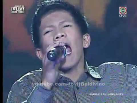 Jovit Baldivino - Too Much Love Will Kill You - Pilipinas Got Talent 2010 : Season 1 Grand Finals