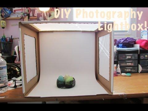 How To Diy Light Box