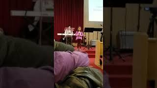 Julie Yang singing God is So Good!