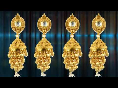 Gold Earrings Collection Diamond Earring Design Earring Designs clip19