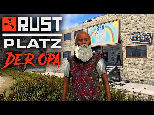 RUSTplatz [S2] #34 👴🏻 Opa beklaut die Polizei 💥 Roleplay Projekt [Deutsch]