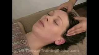 Indian Head Massage Video 45 - Petrissage headline front to back